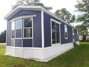 NEW MOBILE HOMES, YEAR ROUND IN NEW 55+ PARK NEAR BOTHWELL
