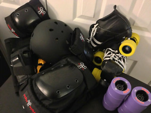 Roller derby starter bundle gently used
