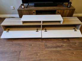 White and Cordoba TV Stand RRP £169.99