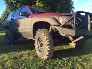 1999 Jeep Grand Cherokee WJ lifted super swampers