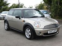 Mini Mini 1.6 Cooper, 2007 64 000 Miles,Leather Seats, FSH, 6 Months AA Warranty