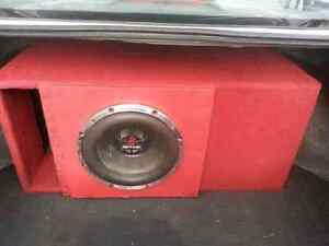 Car audio sub amp box suburban Tahoe Denali