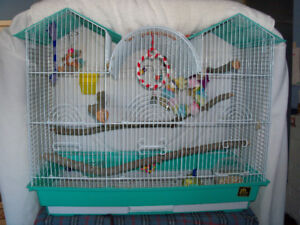 Beautiful, Elaborate Bird Cage for Sale