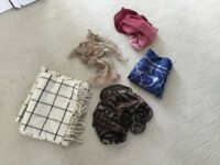 A Selection of Ladies Scarves