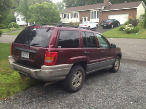 2000 Jeep Grand Cherokee Camionnette
