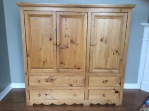 Solid Wood Entertainment Unit or Reclaimed Wood Project