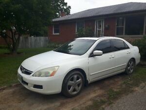2007 Honda Accord V6 6-speed Manual