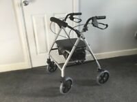 FOUR WHEELED MOBILITY WALKER (CAN DELIVER)