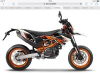 Ktm smc690r part ex and delivery