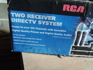RCA Two receiver Direct TV system
