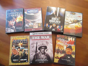 History Buff's dream - over 7 DVDs