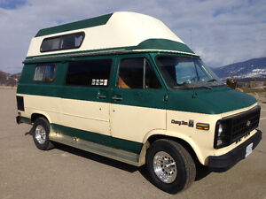 Chevy Camper Van For Rent