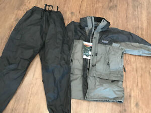 Great for riding! Wind and waterproof suit