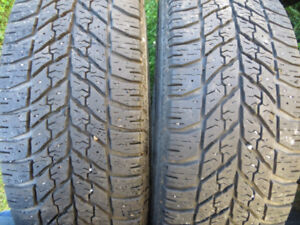 2 p215/55r17 goodyear winter tires
