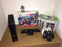 Xbox 360 + Kinect + Disney Infinity + more......