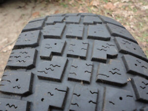 185/65R 14 winter mud and snow tires set of 4