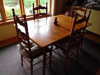 Set cuisine Dining rom Table Chairs set Roxton