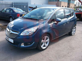 2015 Vauxhall Meriva 1.4i 16v Tech Line DAMAGED REPAIRABLE SALVAGE