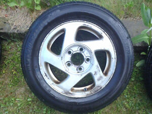 2 Tires On Grand Am Rims