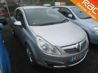 2010 Vauxhall Corsa Hatch 3Dr 1.2 16V 85 EU5 Energy Petrol silver Manual