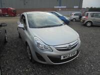 Vauxhall Corsa 1.2i 16v ( 85ps ) Exclusiv 3 DOOR - 2012 12-REG - 7 MONTHS MOT
