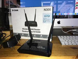 Wireless Router: D-Link N300 DIR 605L