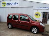 Renault Kangoo Automatic WINCH Wheelchair Scooter Accessible WAV Car