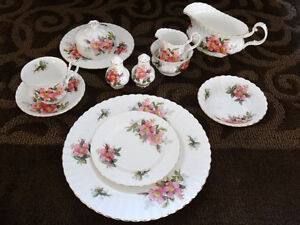 Prairie Rose China - assorted pieces Strathcona County Edmonton Area image 1