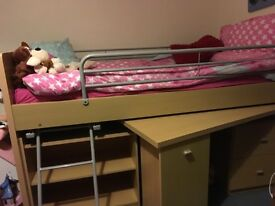 Cabin bed(excluding mattress)