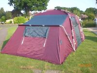 KHYAM RIDGI DOME TENT XXL - 3 X DOUBLE ROOMS WITH SPACE IN CENTRE