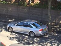 Audi A8 3.0tdi. 1 year mot. New brakes and discs and just serviced.