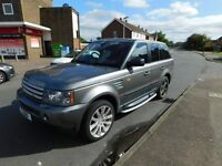 2007 Range Rover Sport 3.6 v8, abit of wear and tear going for a goood price.