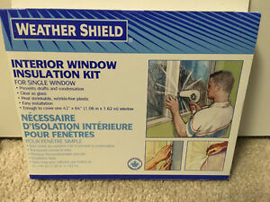 Interior Window & patio door insulation kit