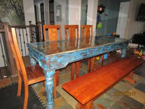 Belle table de cuisine 8 places