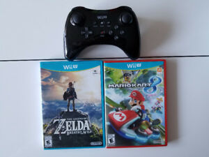 Wii U Console, Controller, and Games (individual prices in post)