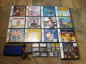 Nintendo DS Lite with 27 Games $80 OBO