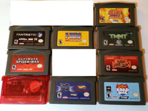 GBA Games / Gameboy Games