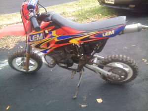 50cc LEM Dirt Bike! Italian Made! SUPER RARE!