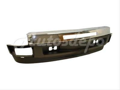 For 07-11 CHEVY SILVERADO 1500 FRONT BUMPER CHR LOWER VALANCE W/AIR HOLE 3