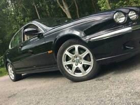 Nice jaguar x type black mot 2018 v6 manual drives mint px or swap