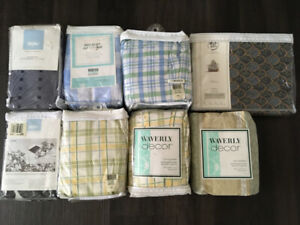 Twin Size Bedskirts - Lot of 8pcs, All Brand New