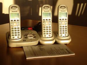 Téléphones sans fil avec répondeur
