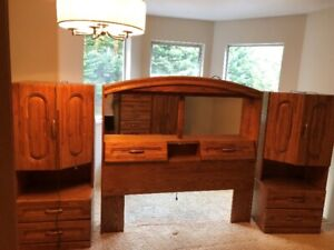 Queen Bedroom Furniture - Reduced to Sell - $895 (Coquitlam)