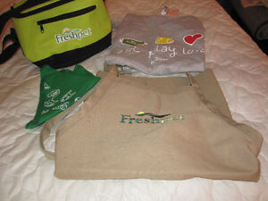 NEW - FROM PET FRESH COMPANY...NEW ITEMS: COOLER, APRON, T-SHIRT