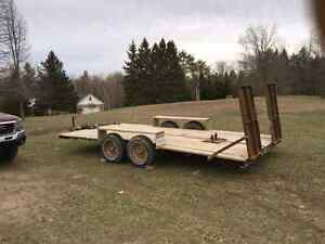 Trailer with title for trade or sale