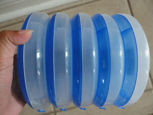 Set of 5 stackable storage containers for beads, charms, etc London Ontario image 10