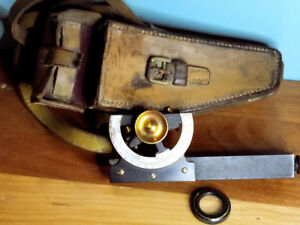 Antique 1930s Abney Level Clinometer For Rapid Calculation Of Ob