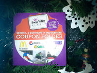 ☆ Need a Last Minute Stocking Stuffer? Snow Valley Coupon Books
