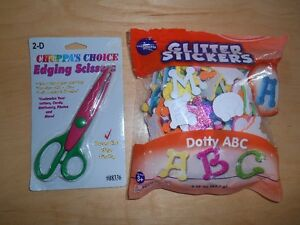SCISSORS & A-B-C `S STICKERS
