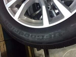 2014 Camero wheels and tires